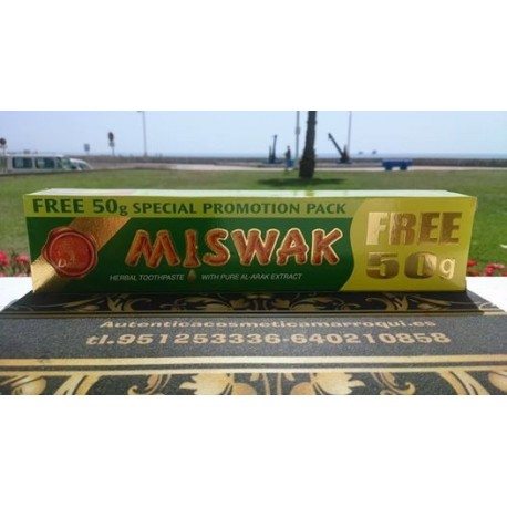 EXCLUSIVA PASTA DENTAL MEDICINAL DABUR MISWAK